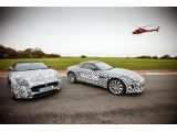 Jaguar F-Type tested by Brundle, Danner and Bell
