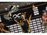 Grosjean wins Race of Champions - says F1 career 'on track'