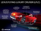 Lexus Flying Luxury Cruiser introduced for Santa