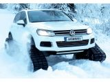 Volkswagen Snowareg is the ultimate in winter mobility