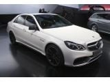 2014 Mercedes-Benz E63 AMG: Detroit 2013