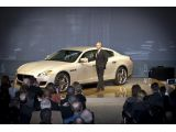 Maserati Quattroporte ushers in a new era in Detroit