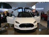 Tesla Model X Detroit 2013