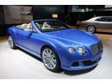2014 Bentley Continental GT Speed Convertible: Detroit 2013
