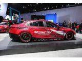 Mazda6 Skyactiv-D racecar unleashed in Detroit