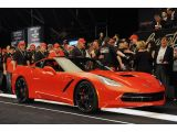 First Production 2014 Chevrolet Corvette Stingray: Barrett-Jackson 2013