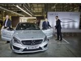 Mercedes-Benz CLA enters production
