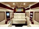 Mercedes-Benz Sprinter turned into a luxurious van by Lexani Motorcars