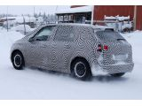 2014 Citroen C4 Picasso caught cold weather testing