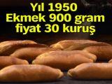 1950'den bu yana yıl yıl ekmek fiyatları ve gramajları
