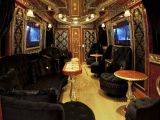 Krala otobüs yaptı