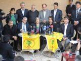 BDP heyeti Erbil'de açıklama yaptı