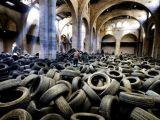 40 ton lastikle sanat