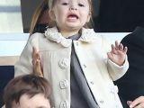 Beckham'ın 19 Aylık Kızı Futbol Hayranı