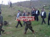 PKK'nın kaçırdığı kamu görevlileri teslim alındı