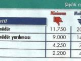 İşte özel sektörde 2011 maaşları!