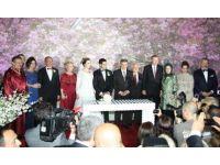 Erdoğan, Çağlayan'ın oğlunun düğününe koşa koşa geldi