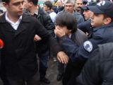 YÖK protestosuna gözaltı