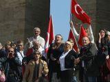 Anıtkabir'de Bayrak Tepkisi
