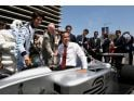 L.A. mayor Antonio Villaraigosa celebrates Formula E arrival - photos