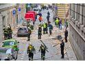 Prag'da şiddetli patlama!