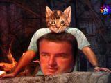 Survivor'da Acun'un Giydiği Kedi Baskılı T-shirt