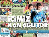 Gazetelerde Fenerbahçe Manşetleri