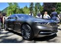 BMW Pininfarina Gran Lusso Coupe photographed in the metal at Concorso d