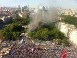 Gezi Parkı'nda Yangın