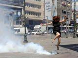 Ankara'da Gezi Parkı Eylemcilerine Biber Gazı Müdahalesi