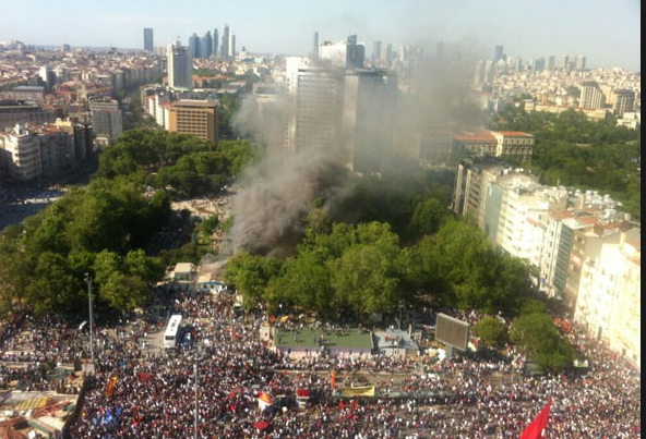 Taksim Gezi Parkı Olaylarına Katılan 220 Nl 252 Ler Foto