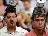Chp Grubu'ndaki gaz maskeliler