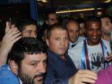 Malouda Trabzon'da Böyle Karşılandı