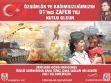 TSK'dan 30 Ağustos afişleri