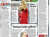 Gazere Manşetleri: Romanya-Türkiye