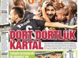 Beşiktaş Galibiyeti Manşetleri