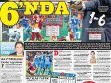 Galatasaray Real Madrid Maçı Gazete Manşetleri'nde