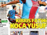 Trabzonspor'un Galibiyeti Manşetlerde!