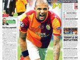 Galatasaray'ın Kopenhag Galibiyeti Böyle Manşetlendi