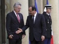 Eli sıkılmayan Cumhurbaşkanı Hollande