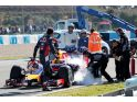 Grey clouds at Jerez as Red Bull ends first test  - photos