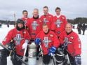 Bill Ford at National Pond Hockey Championship