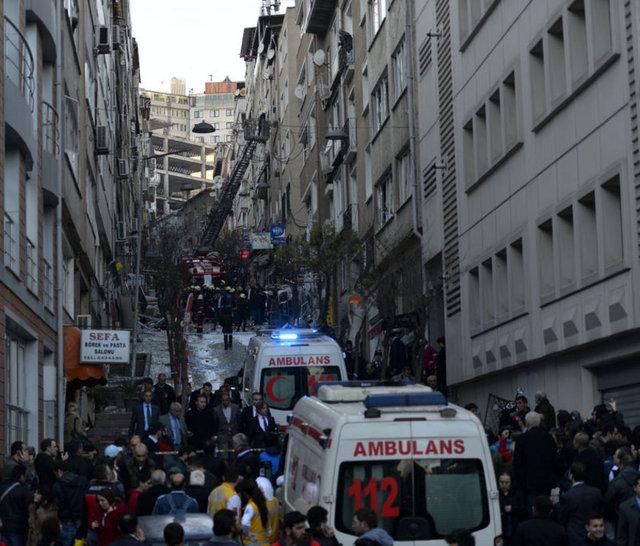 Taksim De Patlama Kazancı Yokuşu Foto Galerisi Resim 1