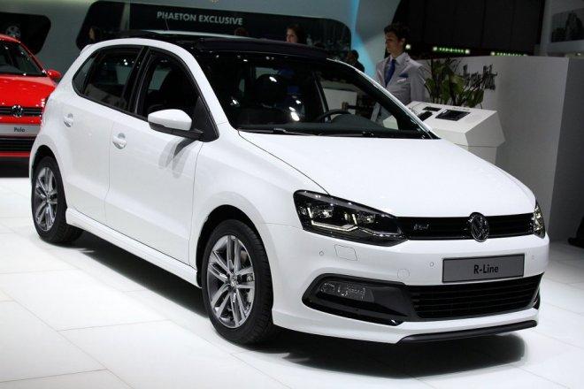 Volkswagen Polo Tsi R Line Geneva 2014 Foto Galerisi Resim 1