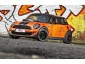 MINI Cooper S receives shiny orange wrap and 240 PS from Cam Shaft &