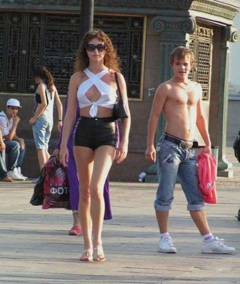откровенные фото на улице