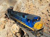 Şili Güney Amerika And Dağları tren