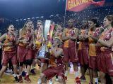 Galatasaray'da şampiyonluk kutlamaları