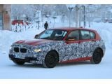 2012 BMW 1-Series spied in red Next-generation 1-Series will be bigger t
