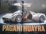 Pagani Huayra revealed via leaked magazine scans (photos updated) Leaked